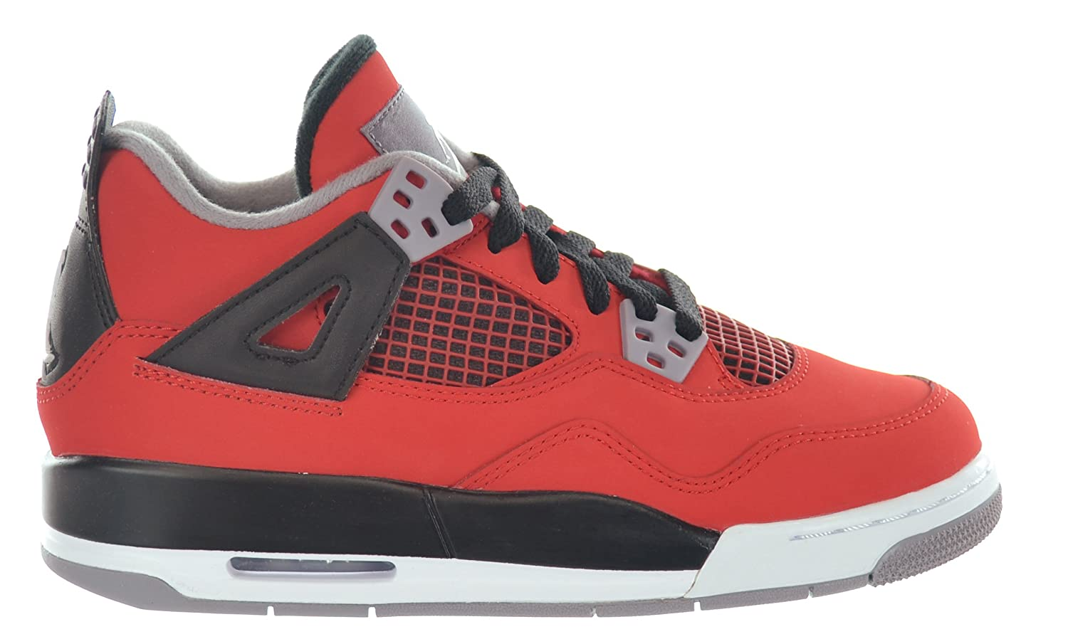 lower price with ee0fd c4622 Amazon.com   NIKE Boys Air Jordan 4 Retro (GS) Toro Suede Basketball Shoes    Fashion Sneakers