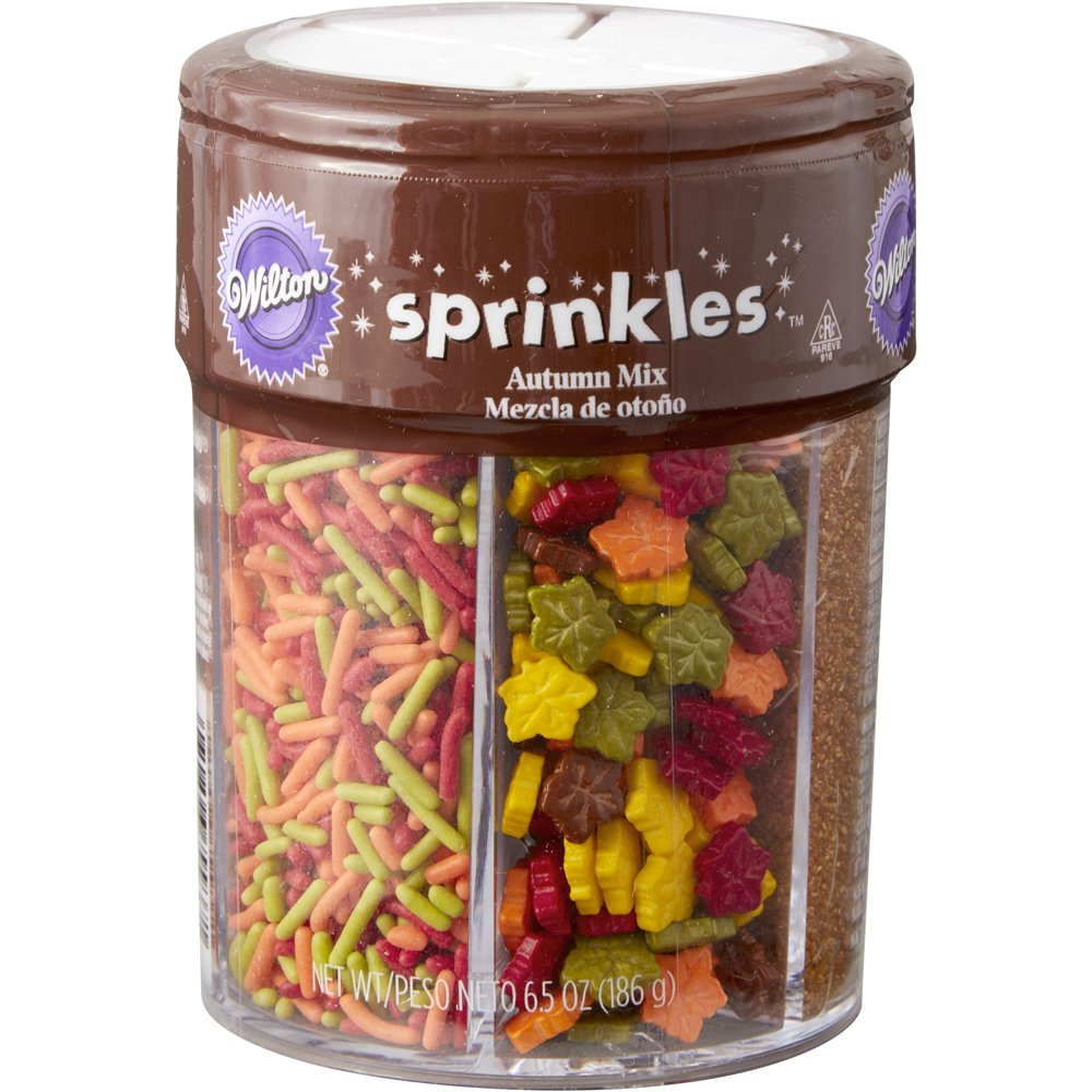 Wilton Fall Sprinkles Mix