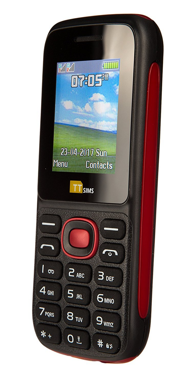 Ttsims Tt120 Dual Sim Simfree/unlocked  Mobile Phone (red)