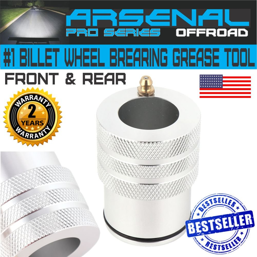 No 1 Polaris RZR 900-1000 44mm Wheel Bearing Greaser Grease