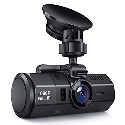Crosstour Dash Cam 1080P FHD DVR Car Dashboard Camera Video Recorder for Cars Super Night Vision, 170° Wide Angle, HDR, Time Lapse, Motion Detection, Loop Recording and G-Sensor: Car Electronics