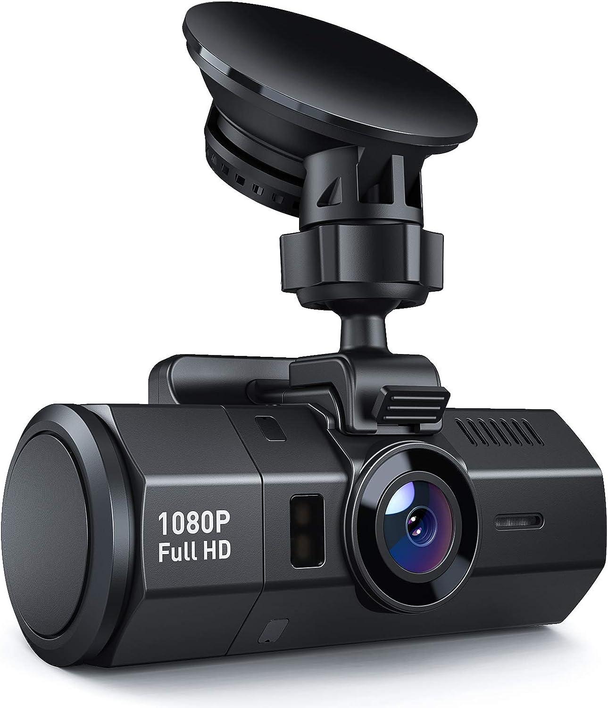 Dashcams for Cars | Crosstour Dash Cam 1080P HD | 170° Car Dash Camera | Dashboard Camera | Video Recorder for Cars | Super Night Vision DVR | Parking Mode | G-Sensor | HDR | Loop Recording