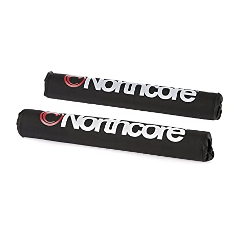 Amazon com : Northcore Roof Bar Pads Surf Rack One Size Black
