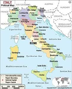 Italia mapa político (36