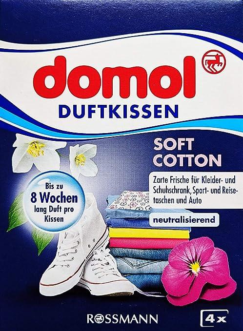 domol Duftkissen Soft Cotton, 1 Packung mit 4 Stück