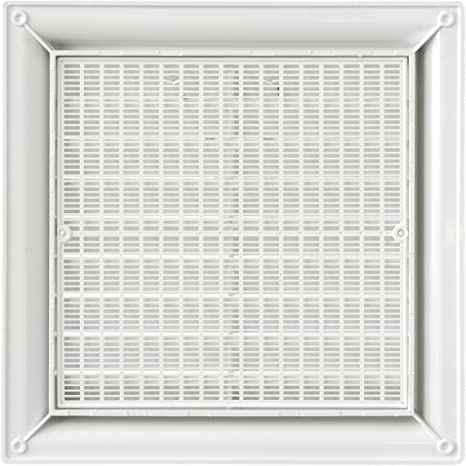 140/x 140/mm blanc La ventilation g1r1414b-y Grille plastique Quadra /à superposer