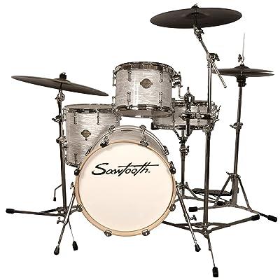 Sawtooth Command Series 4-Piece Drum Set