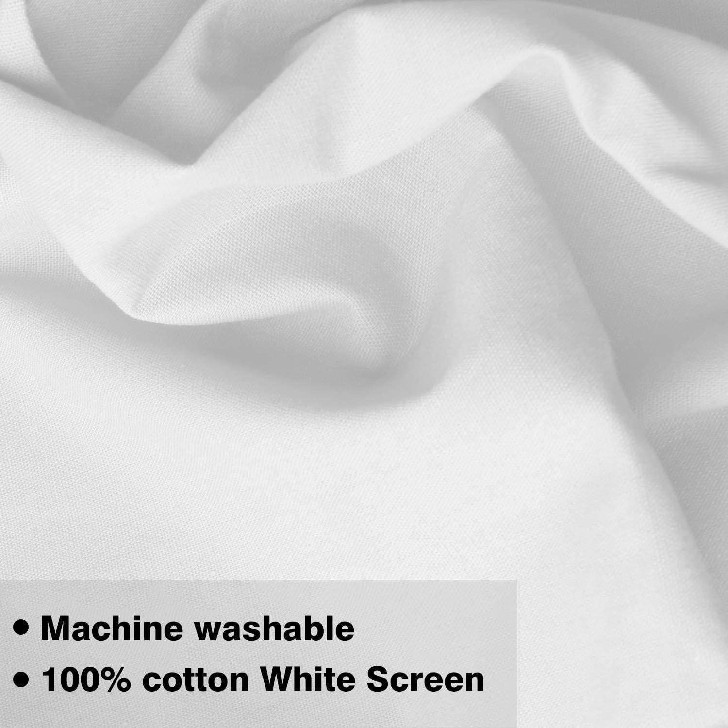 CanadianStudio 10 x 12 ft 10ft x12ft White Backdrop // 3 x 3.6 M//White Photo Video Photography Studio Fabric 100/% Pure Muslin Backdrop Background Screen