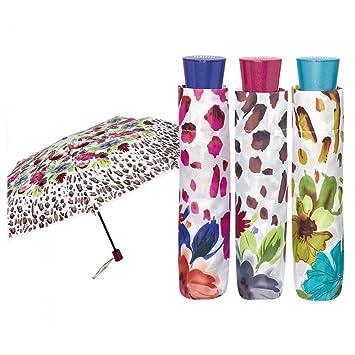 Paraguas plegable antiviento Rosas 54cm surtido