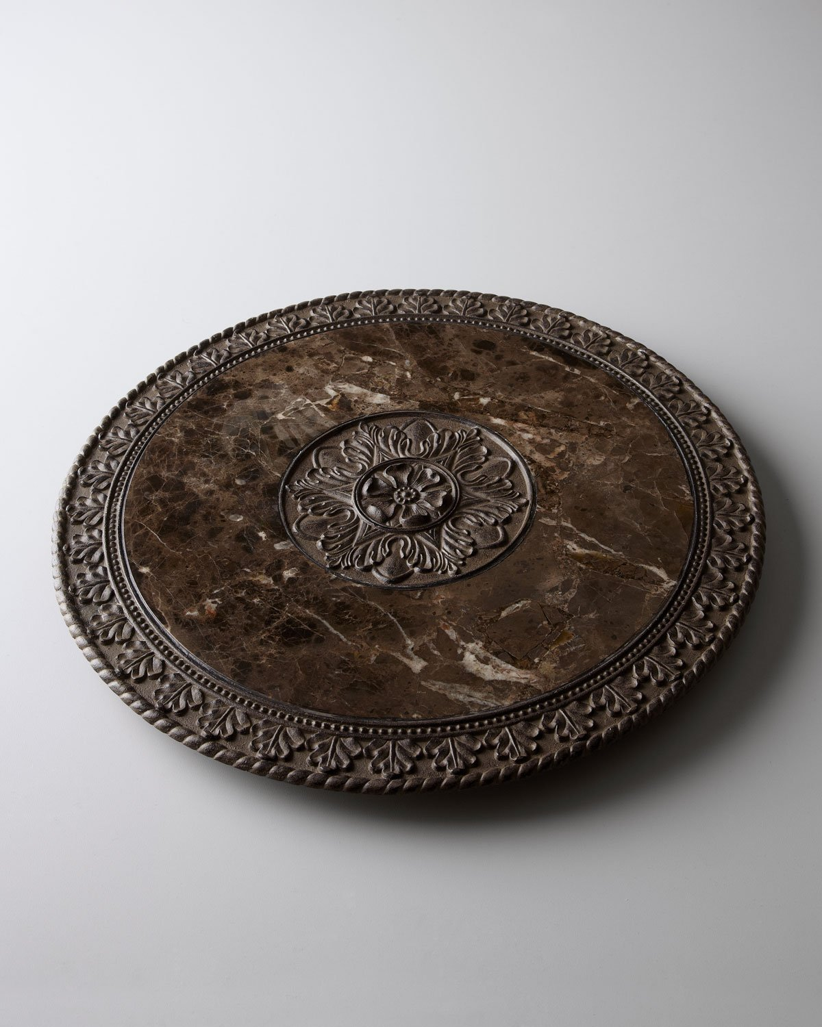 Marble Top Lazy Susan