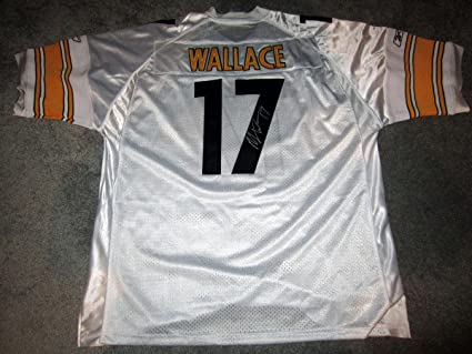 b08574aa Mike Wallace Signed Jersey - w COA NEW w oTAG 3XL - Autographed NFL ...