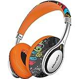 Bluedio A (Air) cuffie stereo con microfono leggere e stilose con Bluetooth Wireless (Doodle)