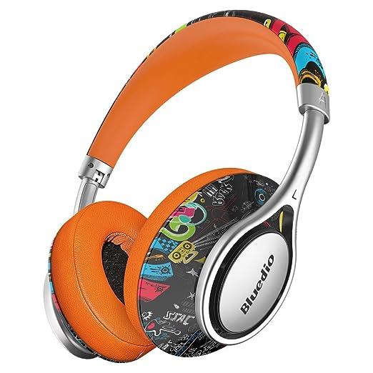 12 opinioni per Bluedio A (Air) cuffie stereo con microfono leggere e stilose con Bluetooth