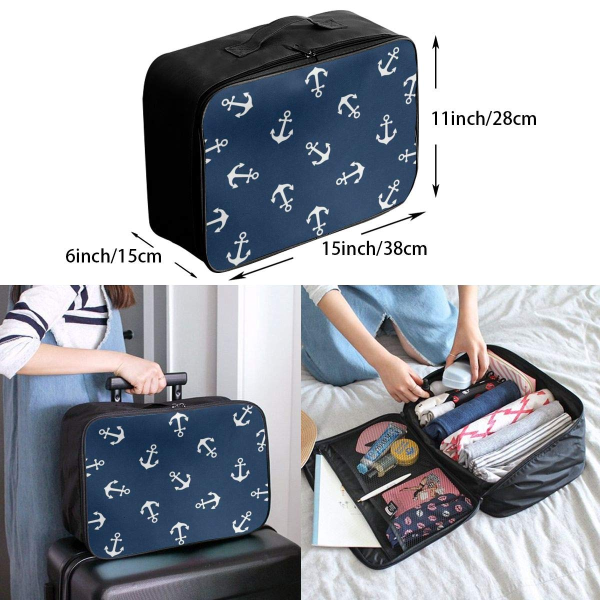 3 Portable Duffel Inspiring Trolley Handle Luggage Bag Travel Bags Cat