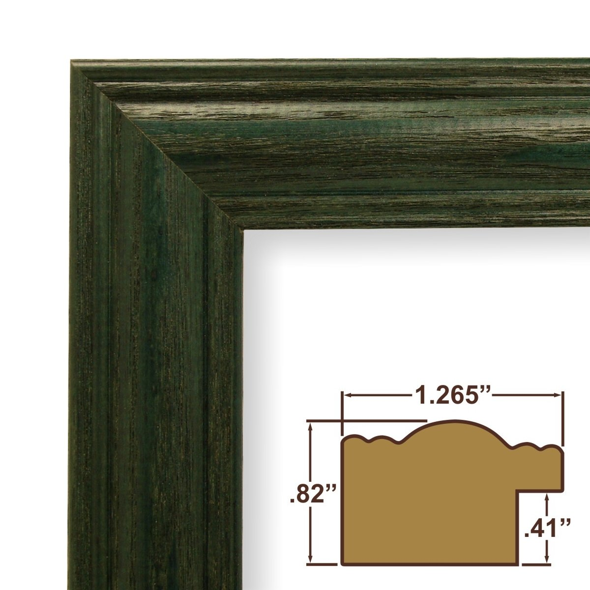 Amazon.com - 13x25 Picture / Poster Frame, Wood Grain Finish, 1.265 ...