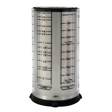 KitchenArt 55210 Pro 2 Cup Adjust-A-Cup, Satin