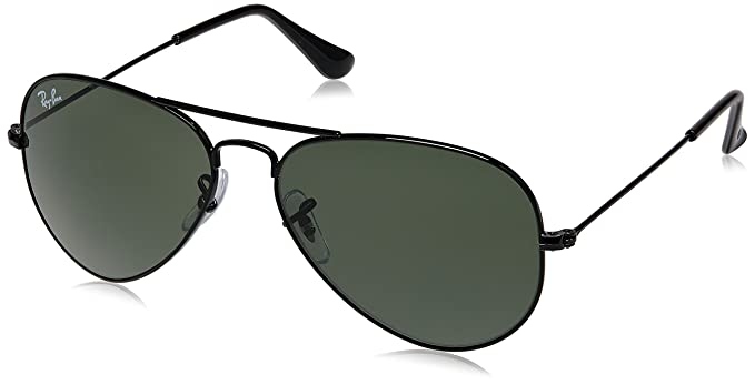 4f661e08efafd Ray-Ban Gradient Aviator Men s Sunglasses (RB3025I 0025 55  millimeters Green lens