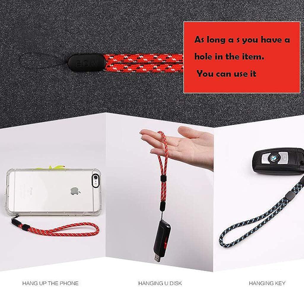 Correa ajustable mano muñeca cordón para cámara del teléfono móvil llaves USB T3