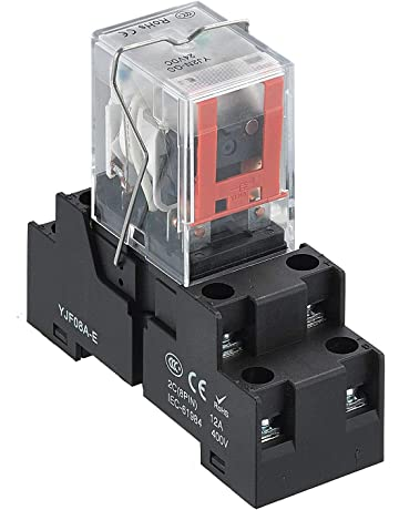 8 Pin DPDT Relay with Socket Base Included High Quality 240 Converter 3V-40V