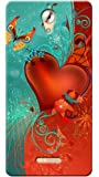 Kaira High Quality Printed Designer Back Case Cover For Coolpad Mega 2.5 D(heartbutterfly )