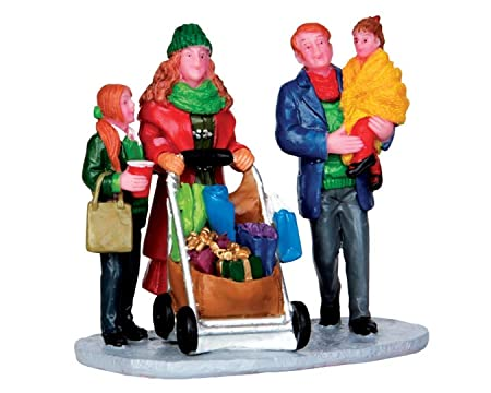 Lemax Village Collection Christmas Shopping with Mom and Dad 32152