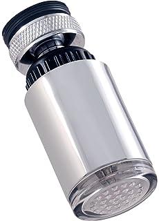 Temperature Sensitive LED Faucet Light Touch On Kitchen Sink