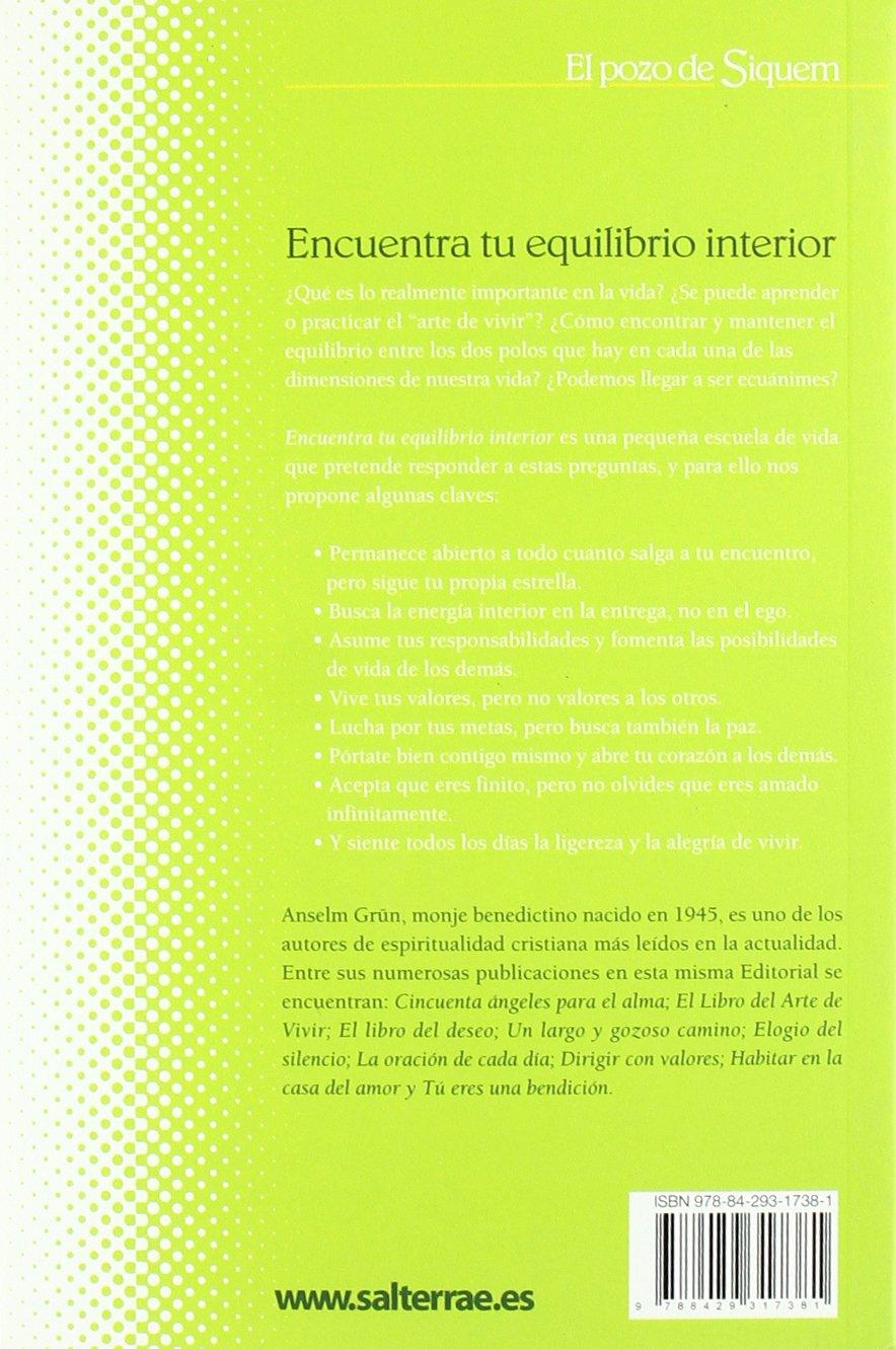 ENCUENTRA TU EQUILIBRIO INTERIOR EPUB