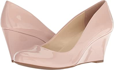 Jessica Simpson Women's Sampson Nude Blush Patent 5 ...