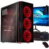 Xtreme PC Gamer AMD Radeon Vega 8 Ryzen 3 Pro 8GB SSD Monitor 23.8 WiFi