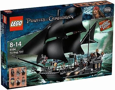 Lego® Fluch der Karibik 1x großes Segel schwarz aus Set 4184 Black Pearl
