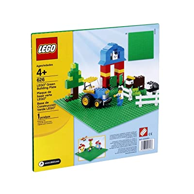 """LEGO Green Base Plate 626 10"""" x 10"""" 1 Unit: Toys & Games"""