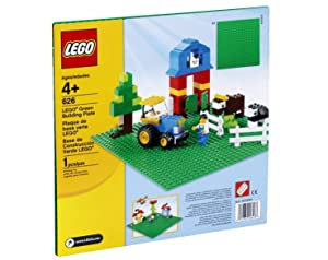 "LEGO Green Base Plate 626 10"" x 10"" 1 Unit"