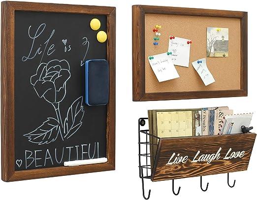 Amazon.com: Pizarras decorativas para colgar y clasificar ...