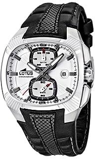 Lotus 15753/1 - Reloj cronógrafo de Cuarzo para Hombre con Correa de Piel,