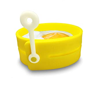 Fusionbrands Yellow Silicone Egg Ring