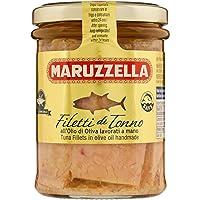 Maruzzella Tonno Filetti Olio di Olive, Vetro - 200 gr