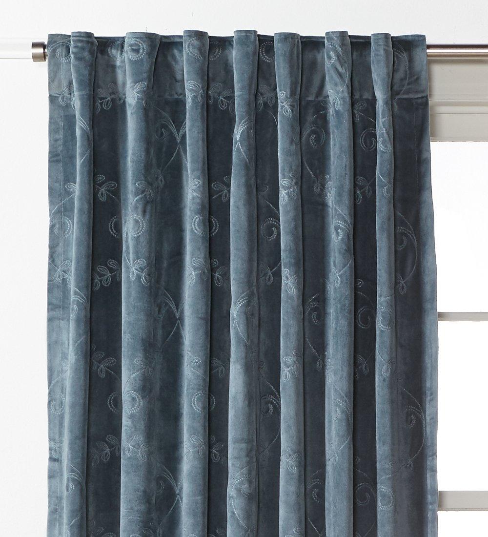84, Mineral Blue Nanshing 87942101765 8 Sullivan Embroidered Panel