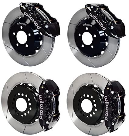 Excellent Amazon Com New Wilwood Complete Front Rear Disc Brake Kit W Line Wiring 101 Photwellnesstrialsorg