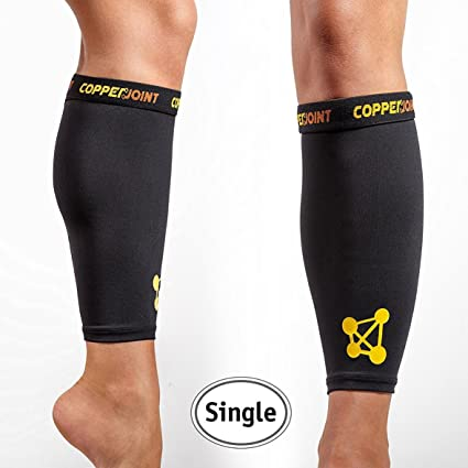 e2692f34a7 CopperJoint – Copper-Infused Compression Calf Sleeve, High-Performance,  Breathable Design Promotes Proper Blood Flow to Help Improve Circulation  All ...