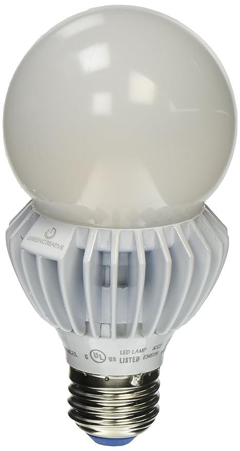 Green Creative 17A21G4DIM/827 A21 LED Bulb, E26 17W (100W Equiv ...