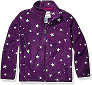 Amazon Essentials Girls Full-Zip Polar Fleece Jacket