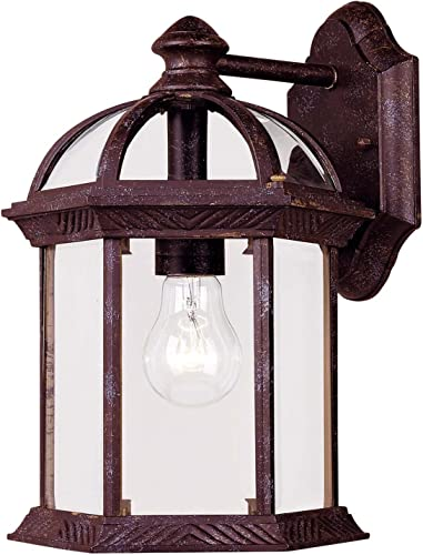 Savoy House Kensington 11.5 Outdoor Wall Lantern in Rustic Bronze 5-0634-72