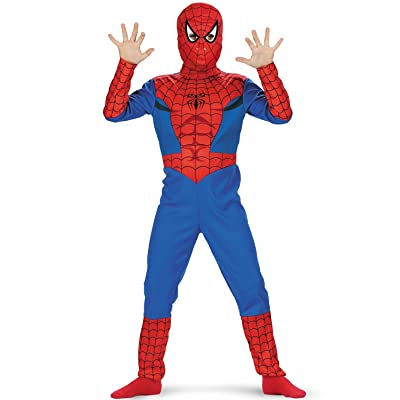 Spider-Man Classic Costume Size: 7-8: Clothing