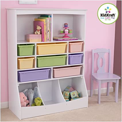 KidKraft Wall Storage Unit, White
