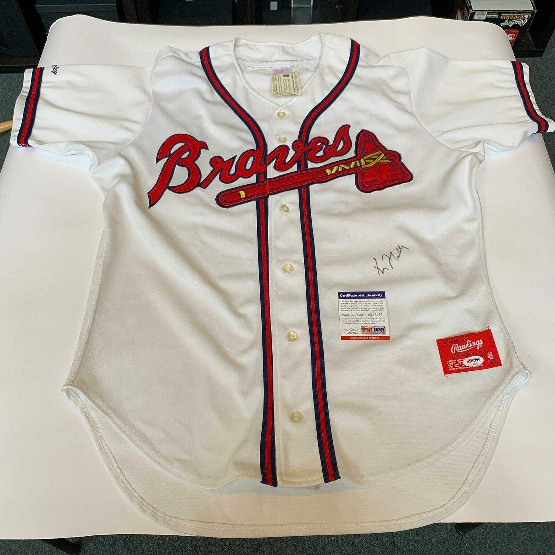 first rate e3daf ef759 Vintage 1995 Greg Maddux Signed Authentic Atlanta Braves ...