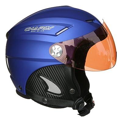 Charly Loop, casque parapente/ski avec visière amovible et sacoche de protection