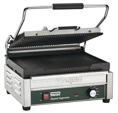 Waring Commercial WPG250 120-volt Italian-Style Panini Grill
