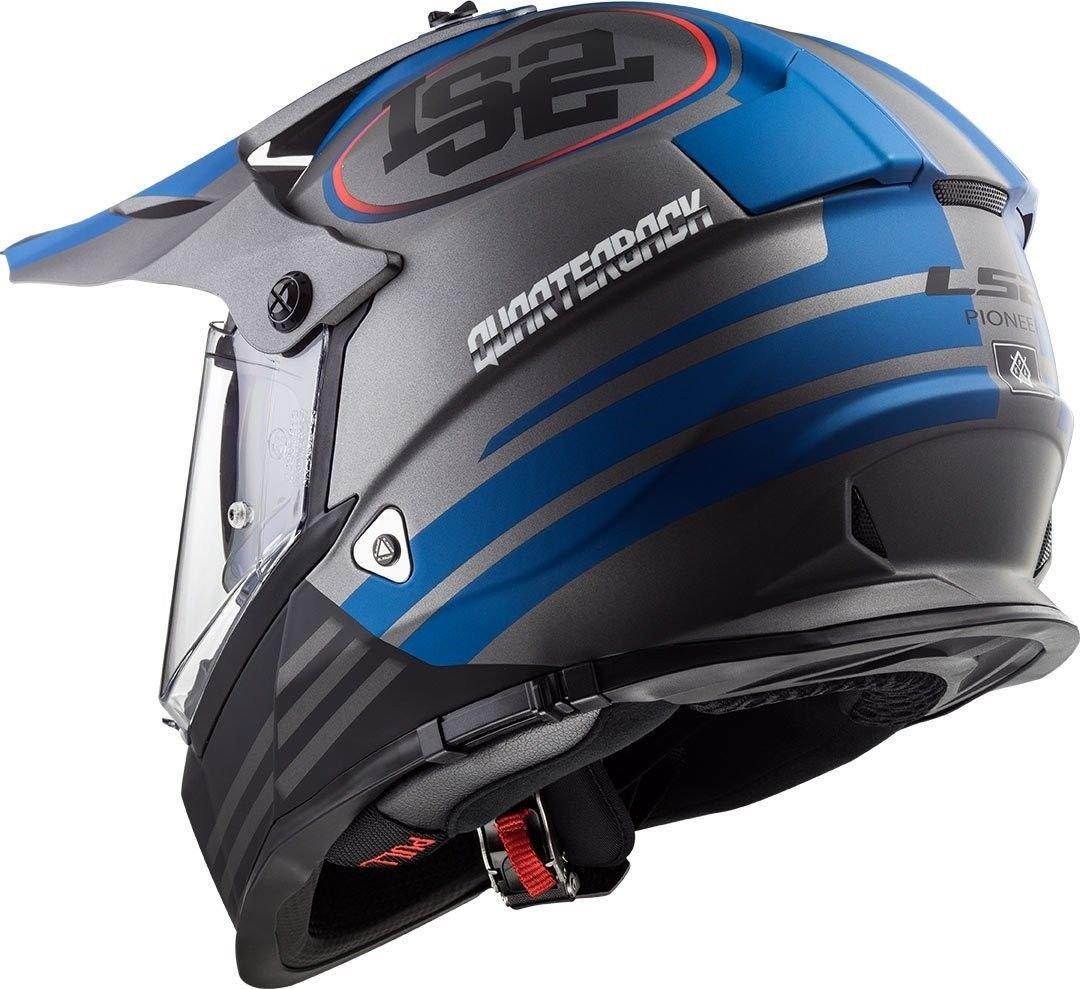 Casco para motocicleta de motocross LS2 MX436