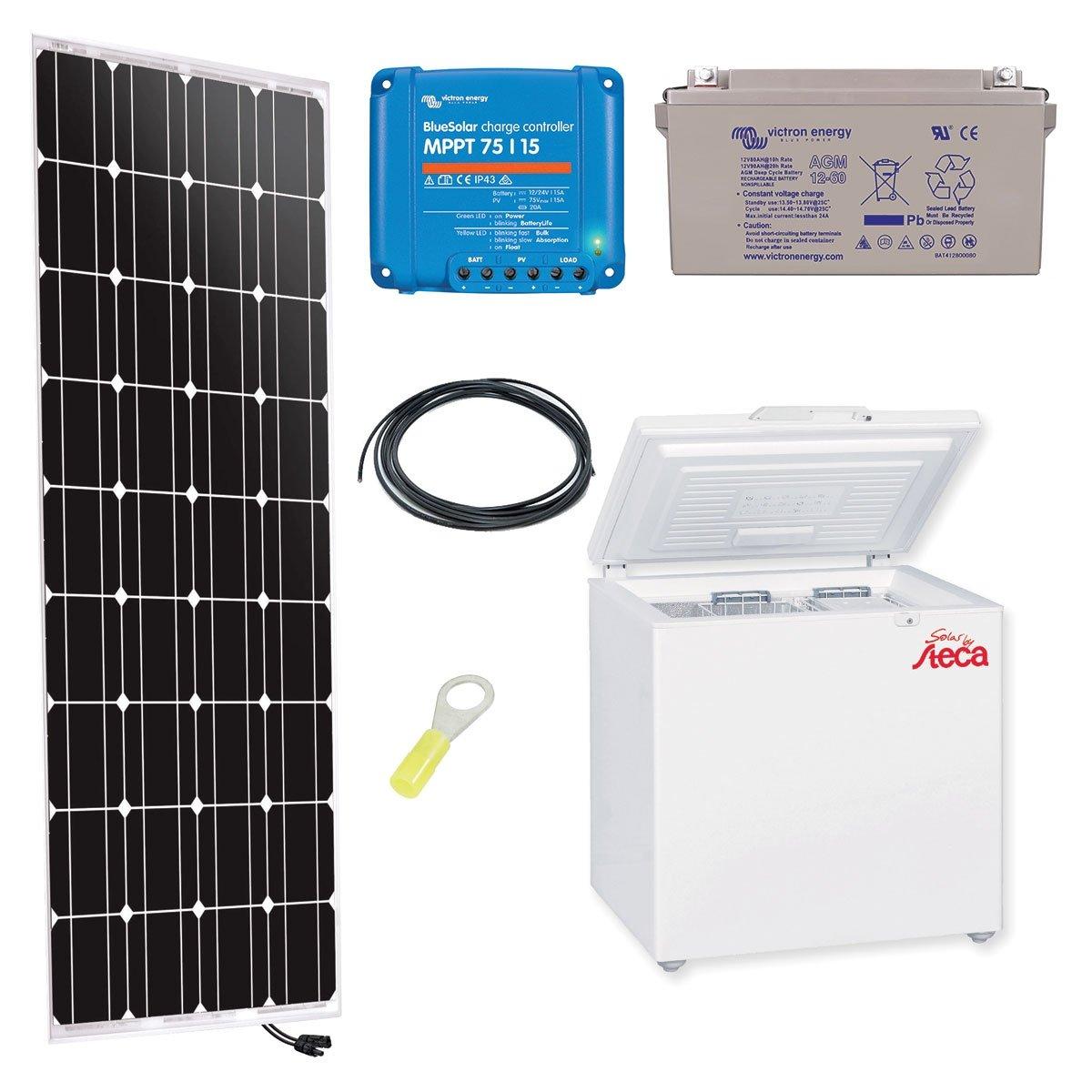 Kit Solar 150 W frigorífico Steca 166L: Amazon.es: Iluminación