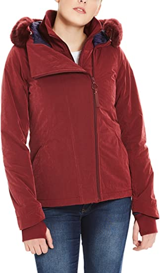 TALLA XL. Bench Core Asymmetrical Jacket Chaqueta para Mujer
